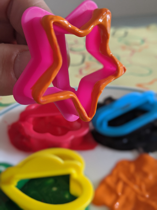 Cookie Cutter with Paint