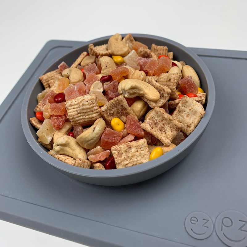 Fall Trail Mix in ezpz mini bowl