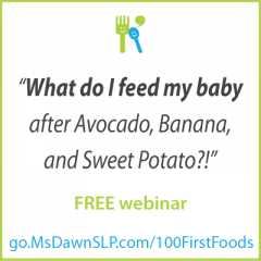 Free Webinar: What to feed baby after avocado, banana, and sweet potato